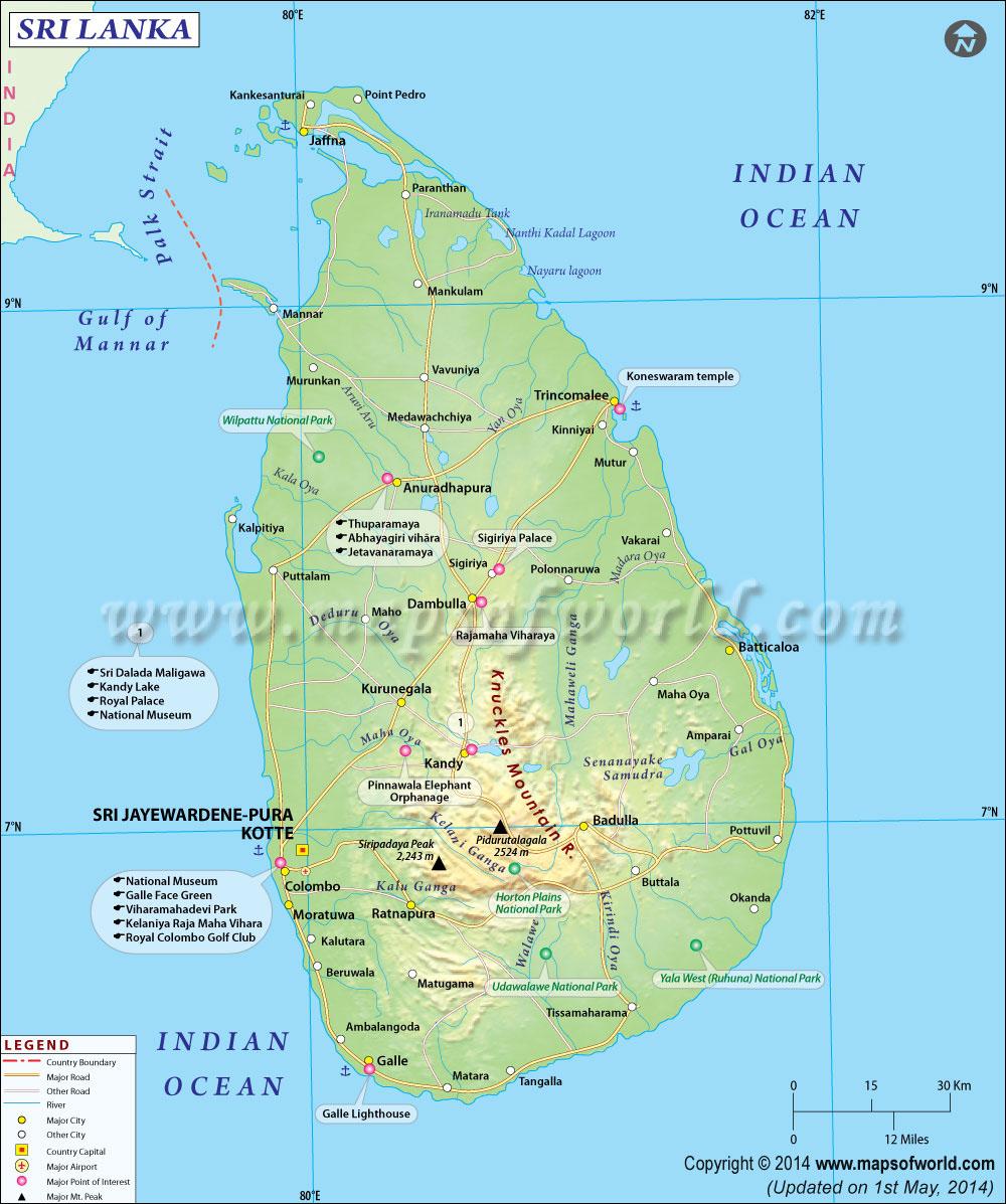Main Natural Resources Sri Lanka